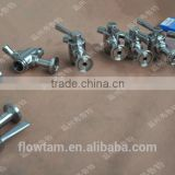 sanitary clamp beer sample valve