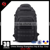 black military tactical bag notebook computer bag multi-functional polyester waterproof backpack for sports
