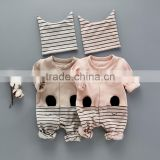 Baby boutique wholesale cute Korea petti rompers baby cotton night suits