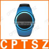 Multi Function Outdoor Sports B20 Music Bluetooth Speaker watch+FM Radio+Selfie Shutter+Phone Anti-lost+TF card play+Mic Speaker