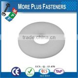 Made in Taiwan high quality plastic flat washer plastic washer spring washer