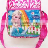 Cheapest Mini Cartoon Children bag Frozen character Elsa Anna school bag Frozen single-shoulder bag for kids