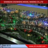 custom miniatures architectural scale model building with led lighting