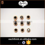 New nail jewelry black micro-zirconium alloy flash DIY drill nail jewelry