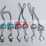 metal promotiomal key chain for lover