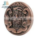 Commemorative Souvenir custom antique copper coin medallion badge with high quality