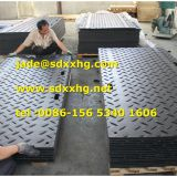PE Road Mats / Composite UHMWPE Rig Mats / Ground Plastic Protection Mat for Oil and Gas Drilling Platform
