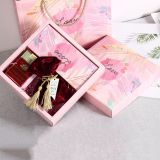 Jewelry pink cute sweet paper packaging box
