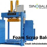 Foam Scrap Baler Machine