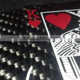 Hot Sale Promotional Funny Carbon Fiber Standard 52-card Deck
