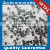 CRYSTAL UNITE low lead flat back hotfix crystal;China supplier hotfix crystal