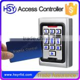 HSY-S216 Metal material waterproof standalone access control keypad single door rfid reader