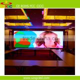 Die-Casting Cabinet Rental RGB semi-outdoor p3 p4 p5 bus stop led display
