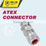 atex approved explosion proof connector high quality cable gland