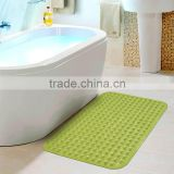 Bathroom accessories silicone bath mat pvc floor mat