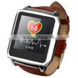 Smart Watch Phone Android 4.04 Smart Watch Phone MTK2572 Dual Core 1.0GHz Single SIM RAM: 512MB ROM: 4GB, GSM Network Watch