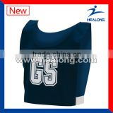Custom sublimated Netball Bibs for top selling