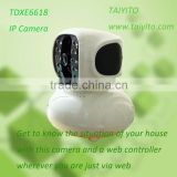 Wireless Intelliget security alarm system / long distance control IP camera