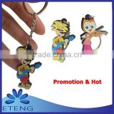 High-quality Economical fashion custom design rubber key chain                                                                         Quality Choice