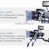 Wondlan Camcorder Video movie making Kits rigs bracket CA03 professional support system steadycam steadicam stabilizer