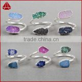 Fine Jewel !! Lapis Druzy Silver Ring, Silver Jewelry Manufacturer, China Fashion Silver Jewelry