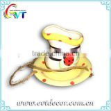 Ceramic Hanging Water Feeder For Birds