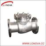 stainless steel API WCB flange non return valve