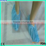 Disposable Waterproof Plastic PP+ CPE Medical Shoe Cover For Work Place