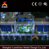 3D rendering architectural design model / Custom miniature architectural model maker