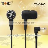 2014 brand new black diamond in-ear earphones/earbuds for cell phone/laptop/Tablet PC China manufacturer supplier in Dongguan
