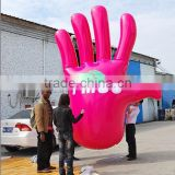 Custom hand shaped inflating air balloon for sale                                                                                                         Supplier's Choice