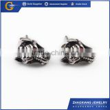 RE0001 wholesale 2014 trendy boys earring stainless steel hoop earring for men jewelry manufacturer