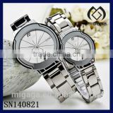 fashion good quality couple watches for gents and ladies *couple watch 304L stainless steel