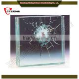 factory provide bullet proof glass max size