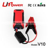 Portable power bank multi-function jump starter 12v mini battery booster car jump starter with mini air compressor