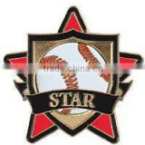 Baseball Star Pin