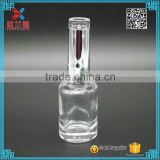 2016 12ml Unique Clear Nail Polish Glass Bottle                                                                         Quality Choice