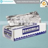 Food baking and strong kitchen pop-up aluminium foil sheet for cantering use
