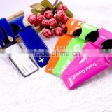 Factory Supply Soft Pvc Luggage Tag Silicone Luggage Tag                                                                         Quality Choice