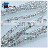 New Fashion electroplating rondelle Crystal beads pujiang factory manufacturers glass beads