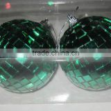 Apple shape Christmas mirror ball