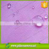 Water repellent spunbond nonwoven fabric SMS nonwoven/non-woven material fabrics for disposable surgical gowns