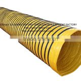 pvc coated fabric with rubber cotton insulated duct