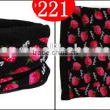 polar fleece winter neck warmer scarf 221