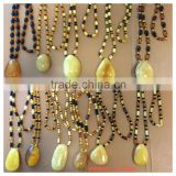 2015 fashion amber necklace, Natural Baltic Amber pendant necklace