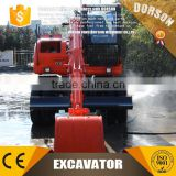 SHANDONG DORSON used 8 ton wheel excavator for sale