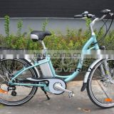 OVERFLY City Commuter electric bicycle with pedal-assist that enables you to give your legs or throttle wrist a rest