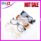 2015 fashion eyeglass frame buffalo horn color