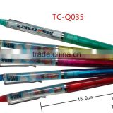 High end best brand plastic liquid floating ball pen for promotion and gift