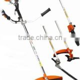 gasoline power multifunctional 43cc brush cutter/grass trimmer/line trimmer/hedge trimmer